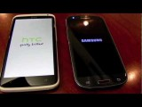 Samsung Galaxy S3 vs HTC One X on Boot time