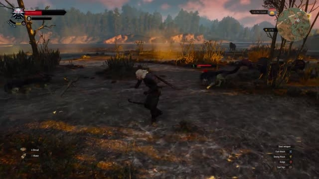 تریلر گیم پلی بازی The Witcher 3 Wild Hunt