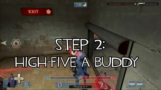 TF2: How to get into enemy spawn on pass_warehouse