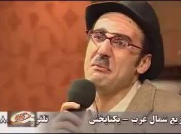 قسمتی از یک نمایش کمدی در شهر تبریز