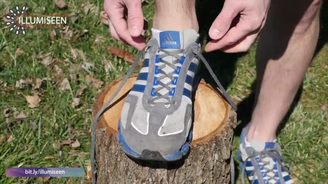 روش جدید بستن بند کفش برای جلوگیری از تاول در پا