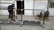 شاسی درحال ساخت تصفیه آب مرغداری  ورامین - شرکت تمدن آریا