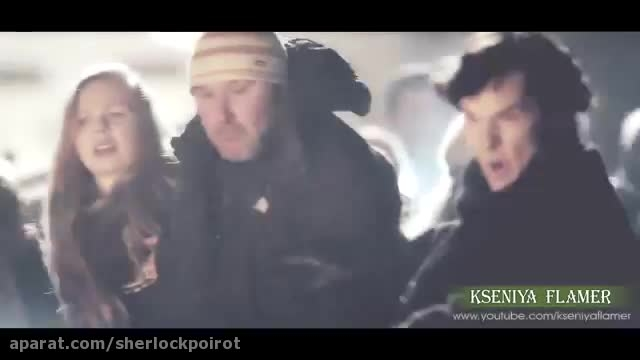 مسخره کردن سریال شرلوک ( خیلی باحاله )