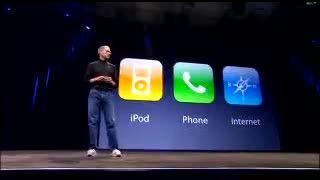 معرفی اولین نسل آیفون توسط استیو جابز در سال 2007