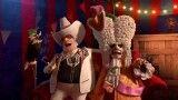 نمایش فوق العاده سیرک در ماداگاسکار 3 | با آهنگ آتش بازی کیتی پری