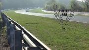 تصادف بی ام دابلیو در پیست آزمایشی