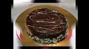 انواع تزئین کیک شکلاتی