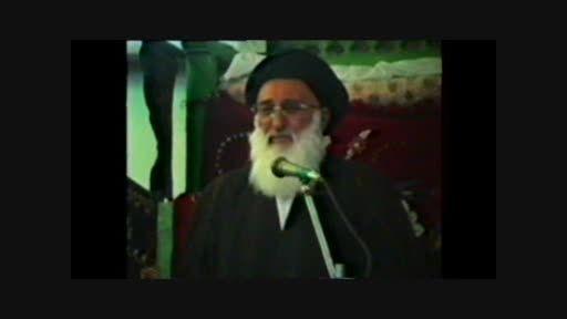 منبر حضرت آیت الله امامی سدهی در شب حضرت علی اصغر