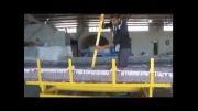 نخستین دستگاه آبگیر لوله ای فرش بدون درب نگین صنعت یزد
