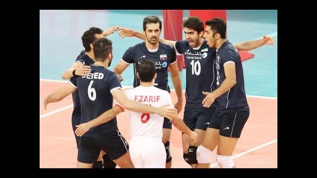 ایران با برد خود درمقابل صربستان به جمع 6 تیم پیوست !!