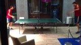 پینگ پونگ بازی پیکه با فابرگاس