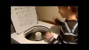نوازندگی با ماشین لباسشویی