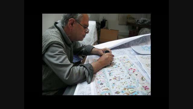 استاد تقدیسی-طراحی فرش دستباف