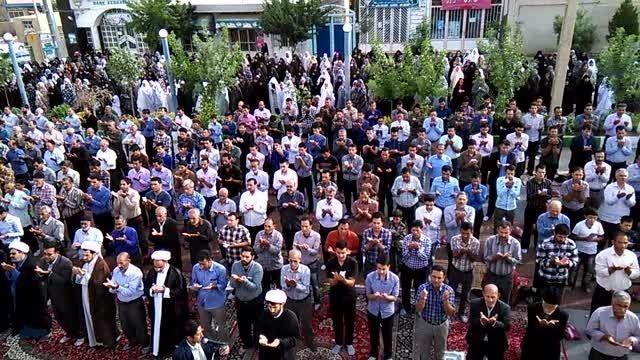 کلیپ قسمتی از برگزاری نماز عید فطر در شهرخنجین 2