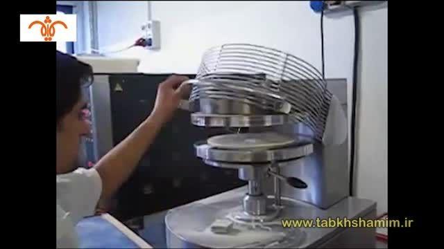 خمیر پهن کن پیتزا پرسی-cuppone