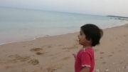 کیانا بی نیاز در کنار سواحل زیبای خلیج فارس  ابوموسی