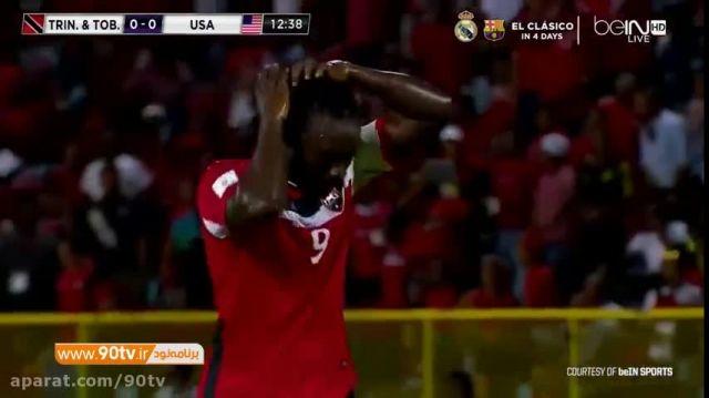 خلاصه بازی: ترینیداد توباگو ۰-۰ آمریکا