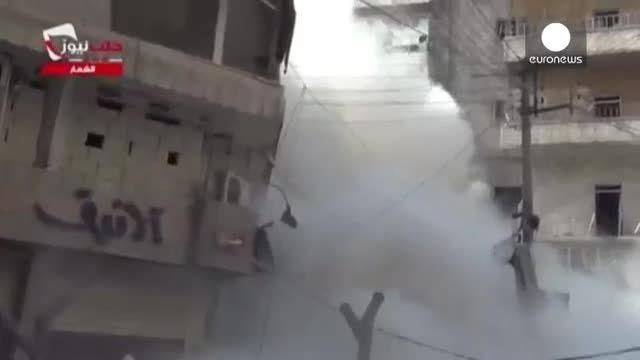 حمله هوایی سوریه به مواضع داعش