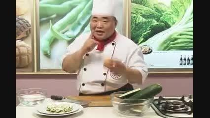هنر تزیین سبزیجات : تزیین با خیار