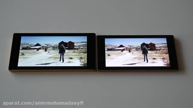 Sony Xperia Z5 vs Z5 Premium _Screen Comparison