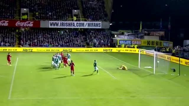 هایلایت بازی کریستیانو رونالدو مقابل ایرلندجنوبی (2013)