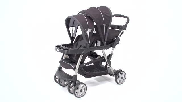 کالسکه دوقلو نوزاد و کودک گراکو فروشگاه mynini.net
