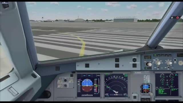 آموزش کامل پرواز با ایرباس 320 شبیه ساز پرواز قسمت 3