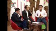 طنز خنده دار در شبکه ی جام جم و تقلید صدا حسن ریوندی