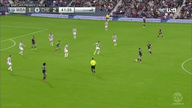 خلاصه بازی : وست برومویچ 2 - 3 چلسی (لیگ جزیره)