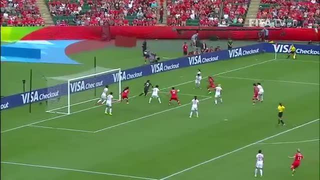 خلاصه بازی : کانادا 1-0 چین(جام جهانی زنان 2015 کانادا)
