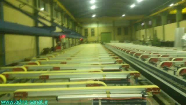 پروژه خط تولید پروفیل آلومینیوم، شرکت آدنا صنعت
