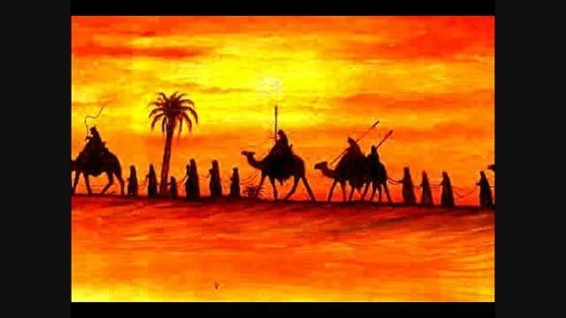 درد دل حضرت رقیه ( س )  با حضرت عباس ( ع )