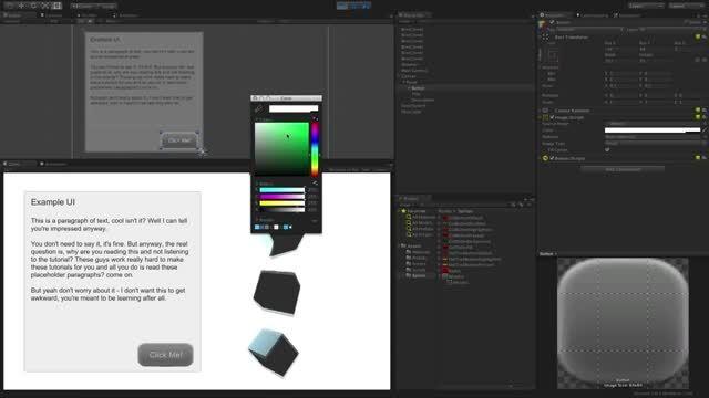 آموزش UI Tool در یونیتی 4 و 5-بخش 4-UI Image