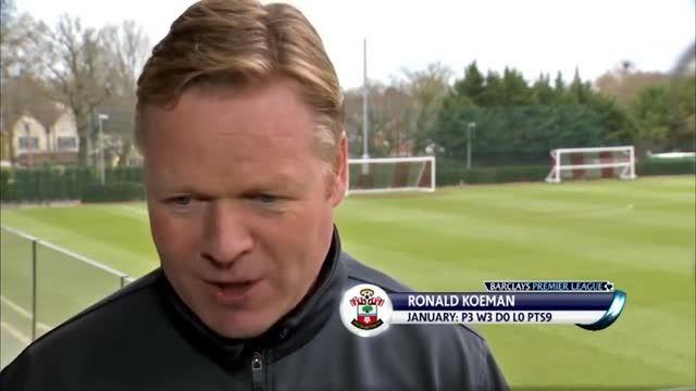 """""""رونالدو کومان""""، مربی برتر ماه ژانویه لیگ برتر انگلستان"""