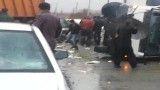 تصادف وحشتناک در جاده کردستان