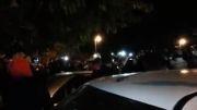 تجمع مردم برای مرتضی پاشایی در ابیدر سنندج