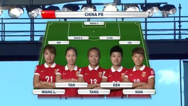 ترکیب : چین VS نیوزلند (جام جهانی زنان 2015 کانادا)