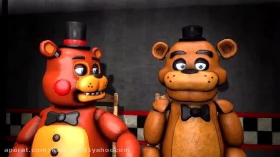 Freddy vs toy freddy