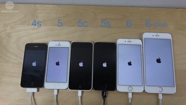 تست سرعت نسخه بتای iOS 9 در گوشی های مختلف آیفون