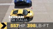 مسابقه درگ بین سریعترین ماشین های دنیا
