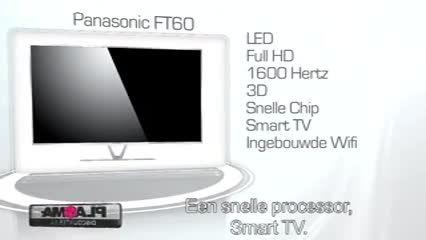 تلویزیون الی ای دی سه بعدی اسمارت پاناسونیک FT60