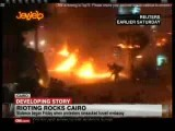 حمله ی انقلابیون مصر به سفارت اسراییل