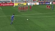 اولین گل با ضربه آزاد در PES 2014 با جواد نکونام