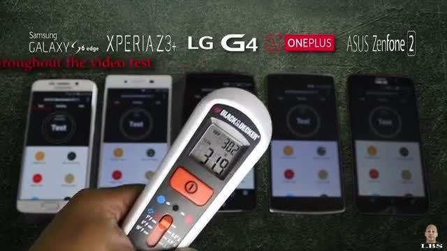 Xperia Z3+ vs GS6 edge vs G4_Antutu and Heating Test
