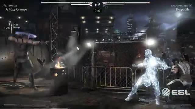 MKX Fight - KungLao vs SubZero