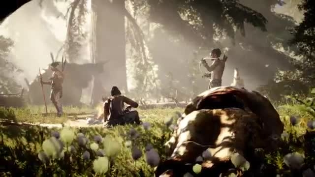 Far Cry Primal Official Reveal Traile - Next4game