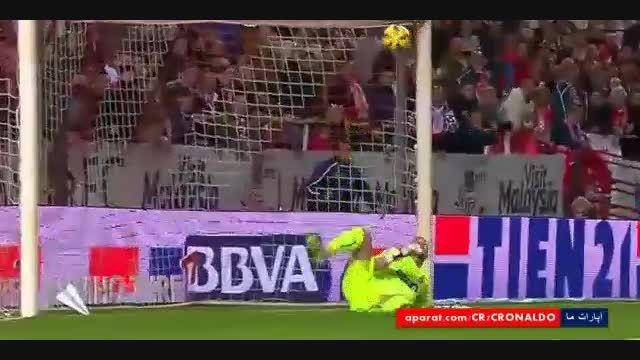 5 سیو و واکنش برتر کیکو کاسیا (دروازه بان رئال مادرید)