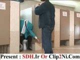 دانلود دوربین مخفی - کلیپ مرد بی سر در توالت