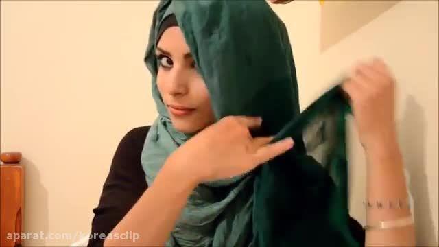 بستن شال حجاب بیسیار زیبــا