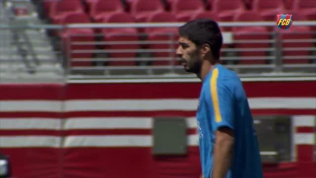 تمرینات بارسلونا (25.07.2015)